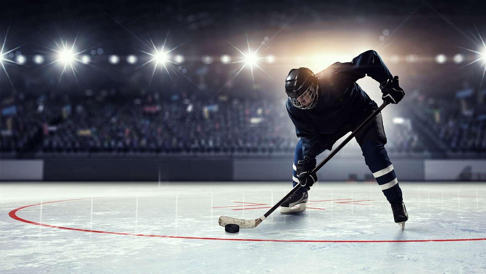 Betting on hockey.