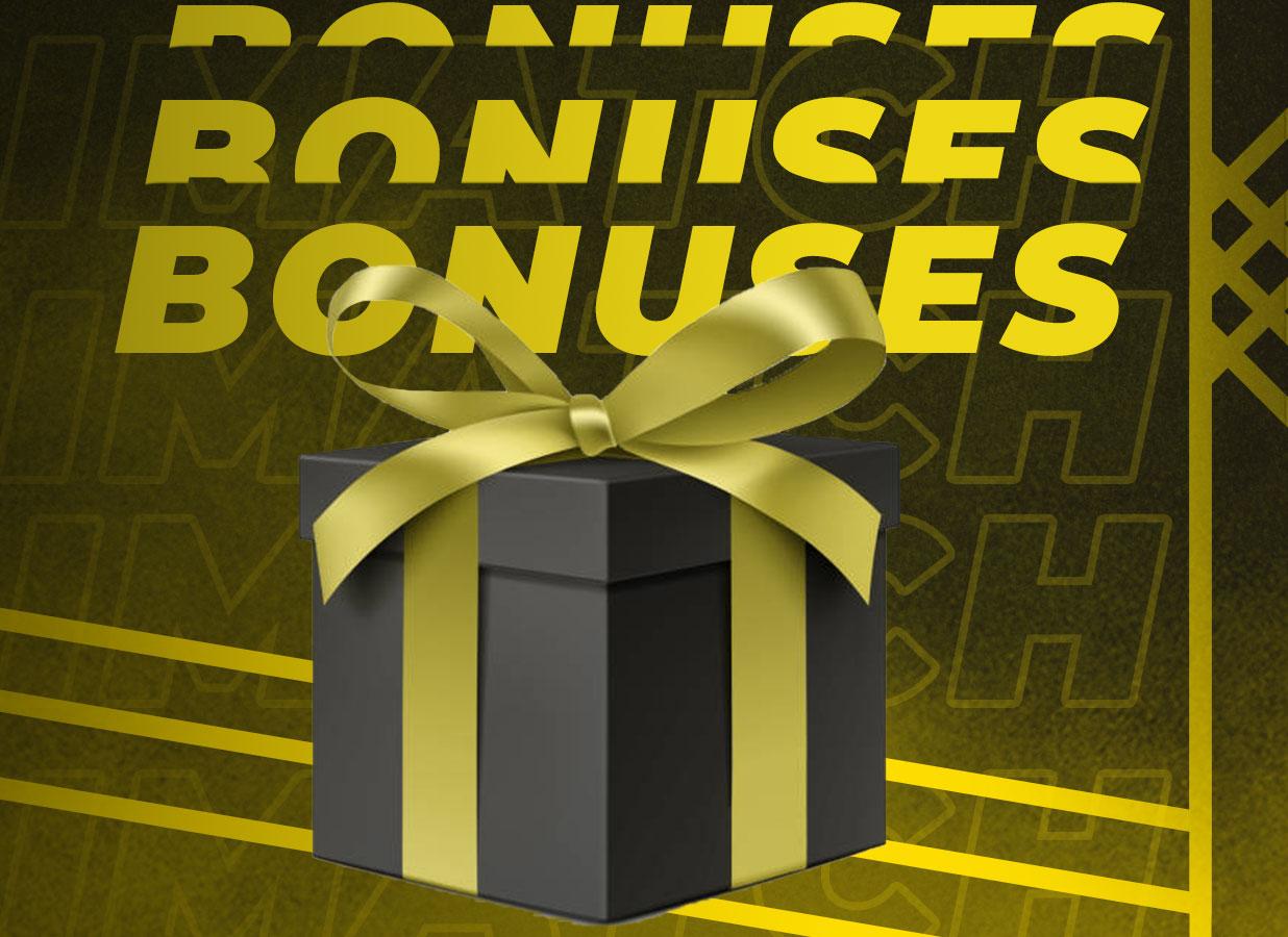 Parimatch bonuses.