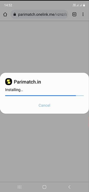 installation android app.